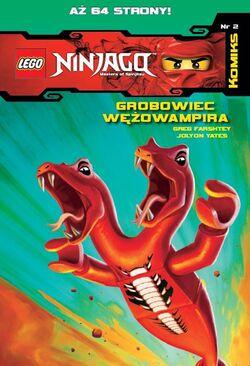 LEGO Ninjago Komiks 2 Grobowiec Wężowampira
