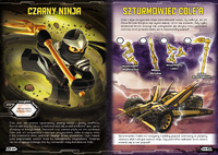 LEGO Ninjago Ninja kontra Hypnobrai Example