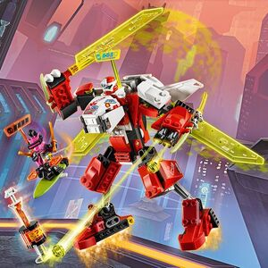 LEGO NINJAGO Kai's Mech Jet 71707 Toy Plane Building Kit New 2020 217 Pieces