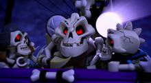 Szkielety atakują Ignacię
