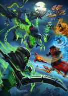 Ninjago Season 5 Promotional Poster