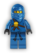 Training Jay Minifigure