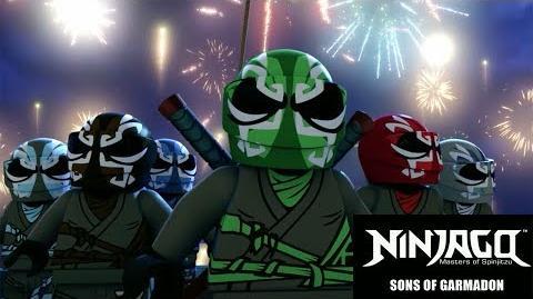 Sneak Peak Season 8 - LEGO Ninjago - Sons of Garmadon - SDCC