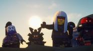 EP84 Harumi and SOG attack a village