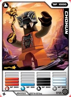 Card 17 Chokun Ninjago Wiki Fandom Powered By Wikia
