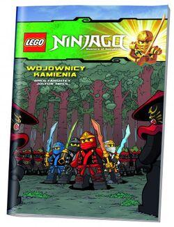 LEGO Ninjago Komiks 4 Wojownicy kamienia