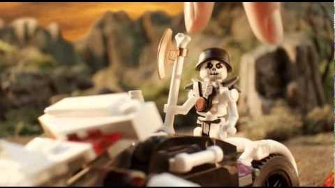 LEGO Ninjago Ice Skull Motorbike