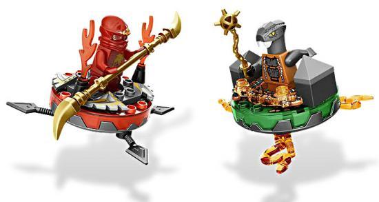 lego ninjago spinjitzu spinners weapon pack set 9591 7jpg - Ninjago Spinjitzu