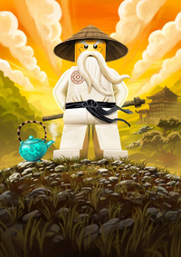 Sensei Wu Poster