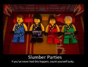 Ninjago slumber party spoof