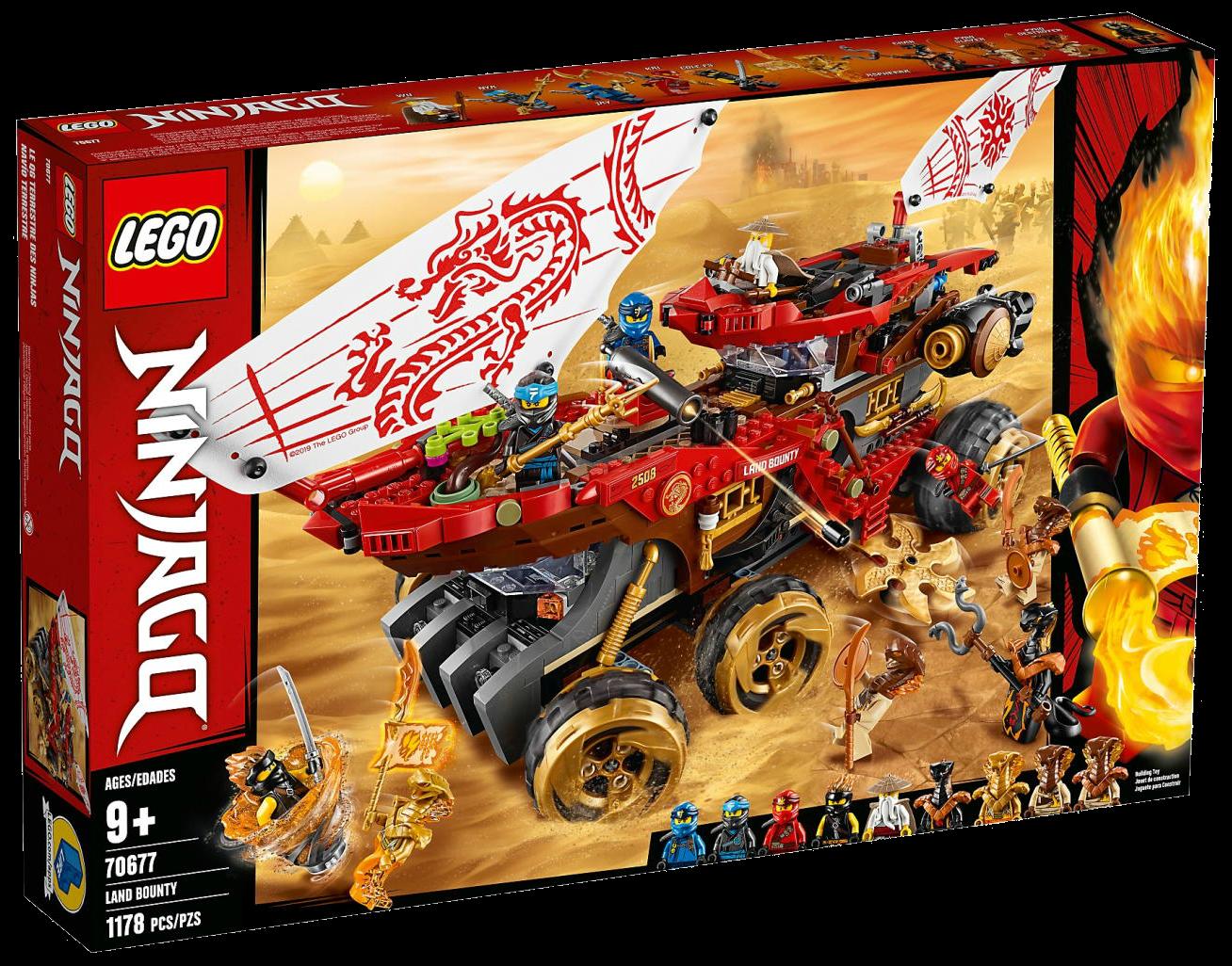 Lego Ninjago Char Black Snake 70675 70677