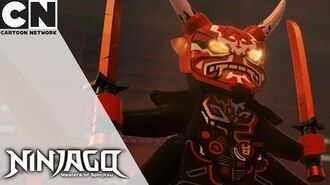 Ninjago Assault on the Palace Cartoon Network