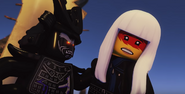 EP88 Harumi tells Garmadon where the Resistance is