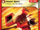 Card 25 - Head Spin