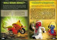 LEGO Ninjago Ninja kontra Fangpyre Example