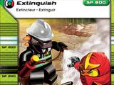 Card 114 - Extinguish