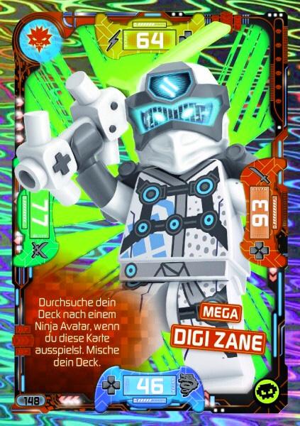 72 Wrayth Lego Ninjago Trading Card Game Karte Nr