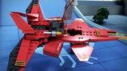 Kai's Fighter - LEGO Ninjago - 70721