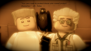 Dr Julien, Zane, and the Falcon