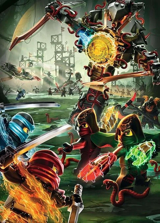 Image - Ninjago Season 7 Promotional Poster.jpg | Ninjago Wiki ...