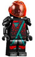 Winter 2020 Red Visor Minifigure 2