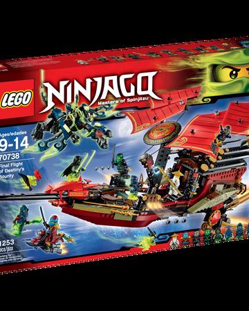 70738 Final Flight Of Destiny S Bounty Ninjago Wiki Fandom
