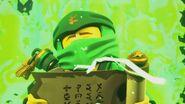 Lloyd uses the Scroll