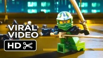 The LEGO Movie Viral Video - Enter The Ninjago (2014) - Morgan Freeman Movie HD