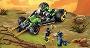 LEGO Ninjago Cole's Tread Assault 9444