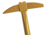 Golden Pick Axe
