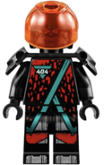 Winter 2020 Red Visor Minifigure