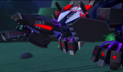 Nindroid MechDragon in TV Episode 1