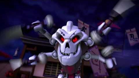 The Story Of Samukai- LEGO Ninjago - Villain Throwback Mini Movie