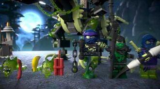 Attack of the Morro Dragon - Lego Ninjago - 70736
