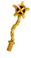 Golden Battle Mace