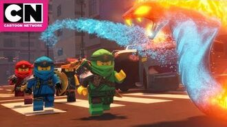 Fire Serpents in Ninjago City - Ninjago - Cartoon Network