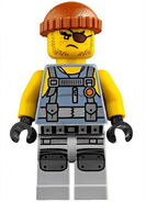 Movie Shark Army Thug Frank Minifigure