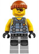 Movie Shark Army Thug Frank Minifigure