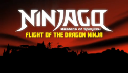 Flight of the Dragon Ninja Title Screen