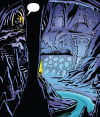 Comic Cave under Garmadon City