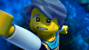 Garmadon holding on