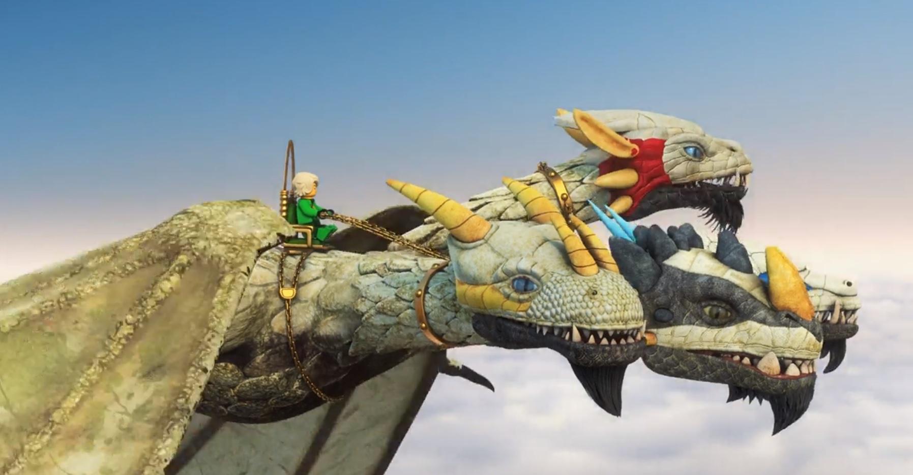 Lego Ninjago Ultra Dragon Show Olivero