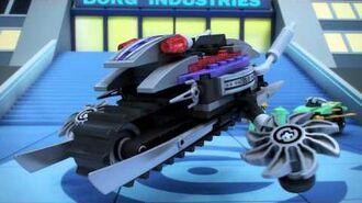Overborg Attack - LEGO Ninjago - 70722