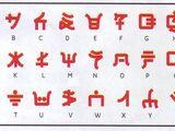 Алфавит Ниндзяго