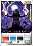 Lord Garmadon Card