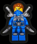 Stone Armor Jay Minifigure