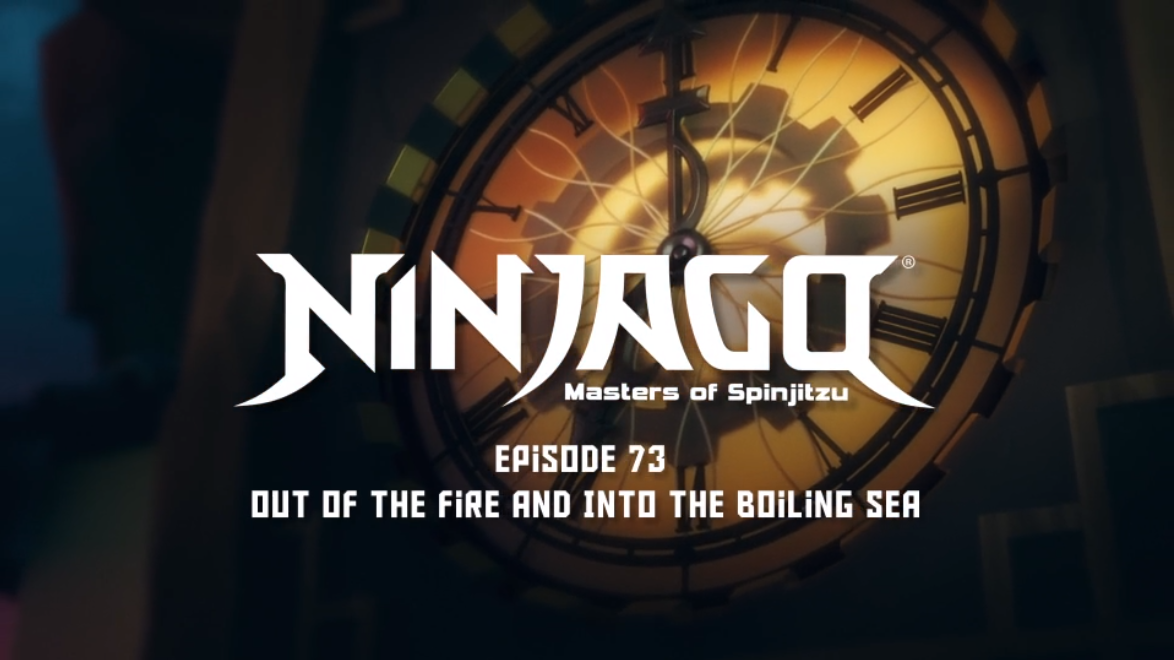 Out of the Fire and Into the Boiling Sea | Ninjago Wiki | FANDOM ...