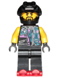 Scooter minifigure