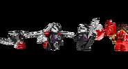 70727 X-1 Ninja Charger Minifigures