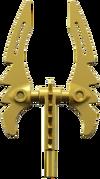Golden Double-Bladed Sword